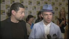 The Hobbit: Martin Freeman and Andy Serkis interviews
