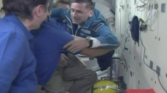 ISS welcomes Soyuz crew