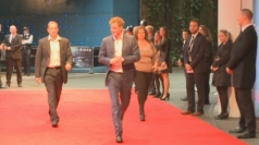 Prince Harry arrives at The Dark Knight Rises premiere
