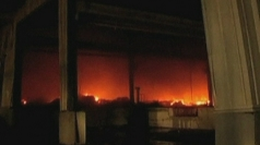 Huge fire destroys Hitachi plant in India