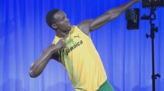 Usain Bolt waxwork unveiled in Madame Tussaud's
