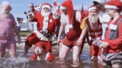 Summer Santas gathered for their congress in Denmark.