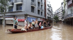 Beijing ravaged by floods