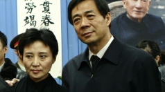 Bo Xilai and wife Gu Kailai before the scandals unravelled.