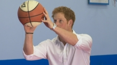 Prince Harry fails to score