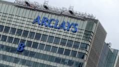 The B is removed from Barclay's HQ in London.