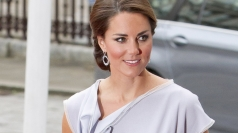 Dazzling Duchess: Kate sparkles at star-studded reception