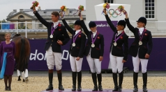 Zara Phillips and team take silver