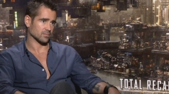 Colin Farrell discusses the remake of Total Recall