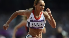 Jessica Ennis has made a strong start to the heptathlon.