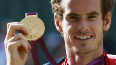 Andy Murray won gold in the men's tennis singles.