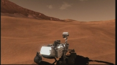 Nasa Mars Curiosity rover: 'It's just a robot with a laser!'