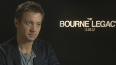 Jeremy Renner on enjoying making The Bourne Legacy
