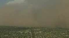 Dust cloud rolls across Arizona