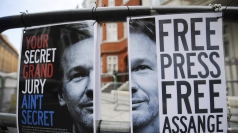 Assange has been at the Ecuadorian embassy since June.