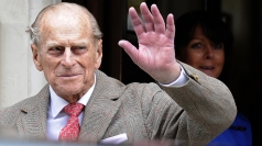 Prince Philip made several appearances during the Games.