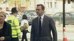 Andy Coulson and NOTW staff arrive in court