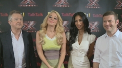 EXCLUSIVE: Interview with X Factor judges at launch