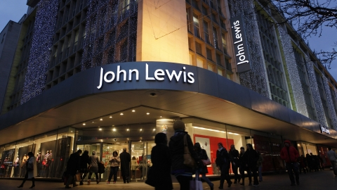 Sports sales rose 178 per cent at John Lewis last week.
