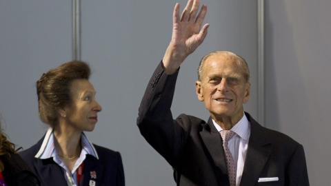 Prince Philip remains in hospital for a fifth day