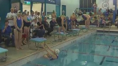Veteran swimmers break world record