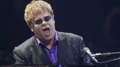 Elton says his son's childhood will be 'difficult'