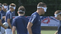GB's Paralympic blind football team aiming for gold