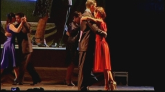 Dancers compete in the Buenos Aires World Tango Championship