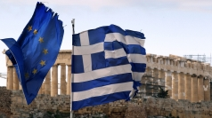 Greek PM Antonis Samaras is holding eurozone talks.