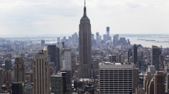 The shooting occurred next to the Empire State Building.