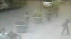 CCTV of police shooting Empire State Building gunman