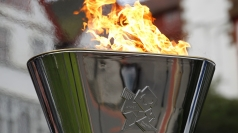 The flame will now be taken to the Olympic Stadium.