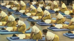 Thai massage breaks Guinness World Record
