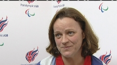 7/7 survivor Martine Wright fulfils Paralympic dream