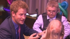 Prince Harry's first public appearance since Las Vegas