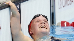 Ellie Simmonds wins gold on Saturday.