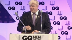 Boris Johnson's hilarious GQ Awards acceptance speech