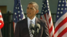 Barack Obama: '9/11 has made the US stronger'