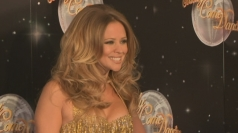 Strictly: Kimberley on Cheryl ballroom dancing as a child