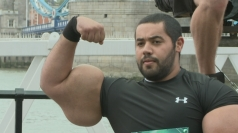 Bodybuilder's 31-inch biceps are biggest in the world