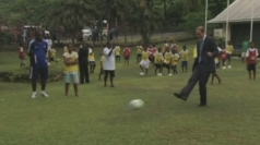 Prince William loses penalty shoot-out