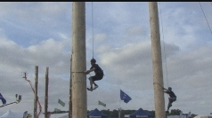 World pole climbing championships