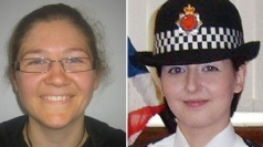 Two female police officers have been shot dead.
