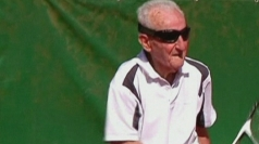 Is this the world's oldest tennis player?