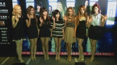 K-pop girlband T-ARA promote their concert in Hong Kong