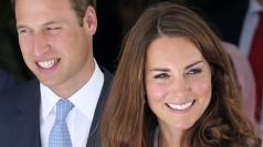 William and Kate are coming home.