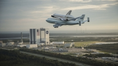 Nasa's space shuttle Endeavour begins final journey