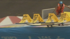 Taiwan Birdman Contest: Daredevils fly in homemade planes