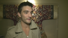 The Wanted's Tom Parker talks about One Direction banter.