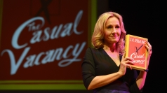 JK Rowling launches The Casual Vacancy